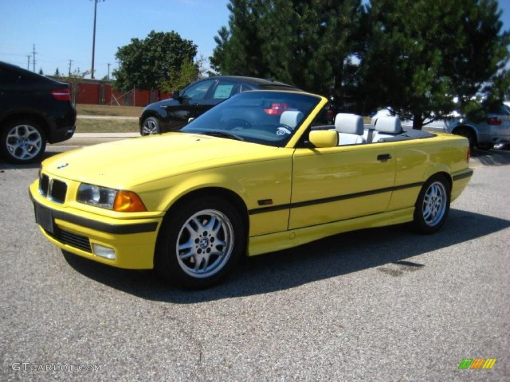 Series I Convertible Dakar Yellow Grey Susie - Bmw 325i convertible