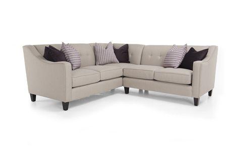 Sectional DecorRest Different Fabric Sha Ibriham - Decor rest sectional