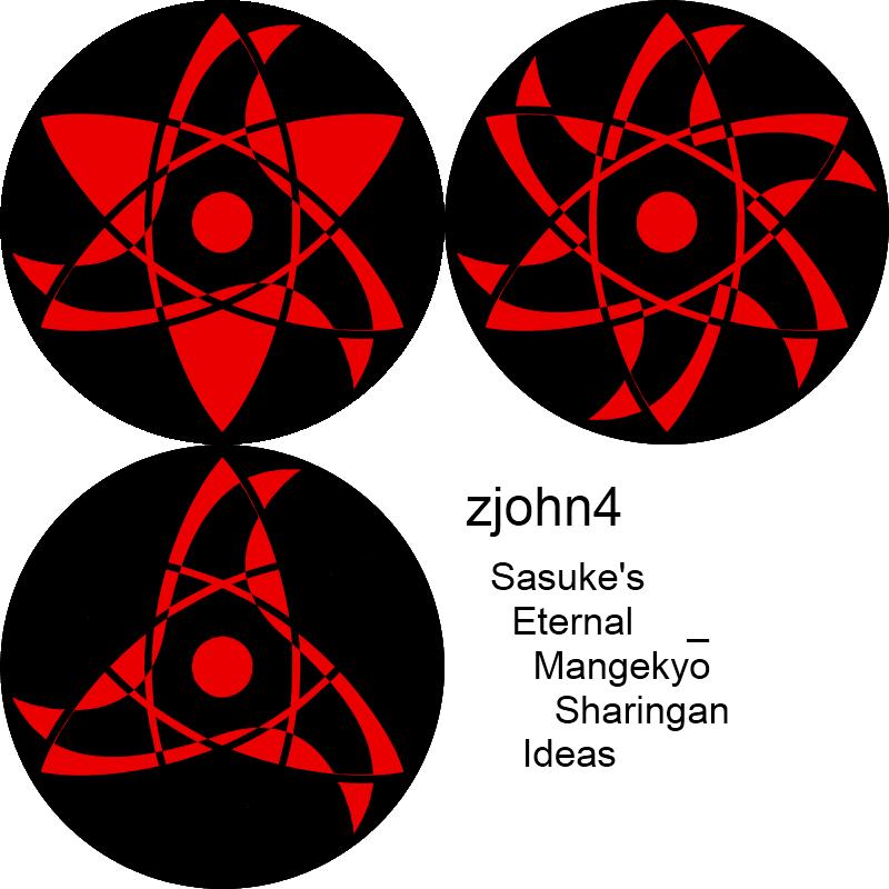 sasukes eternal mangekyo ideas by zjohn4 naruto