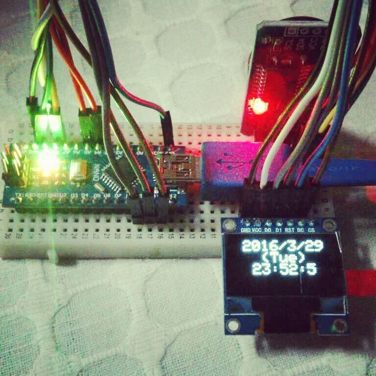 My First Real Time Digital Clock build with Arduino Nano DC3231 High