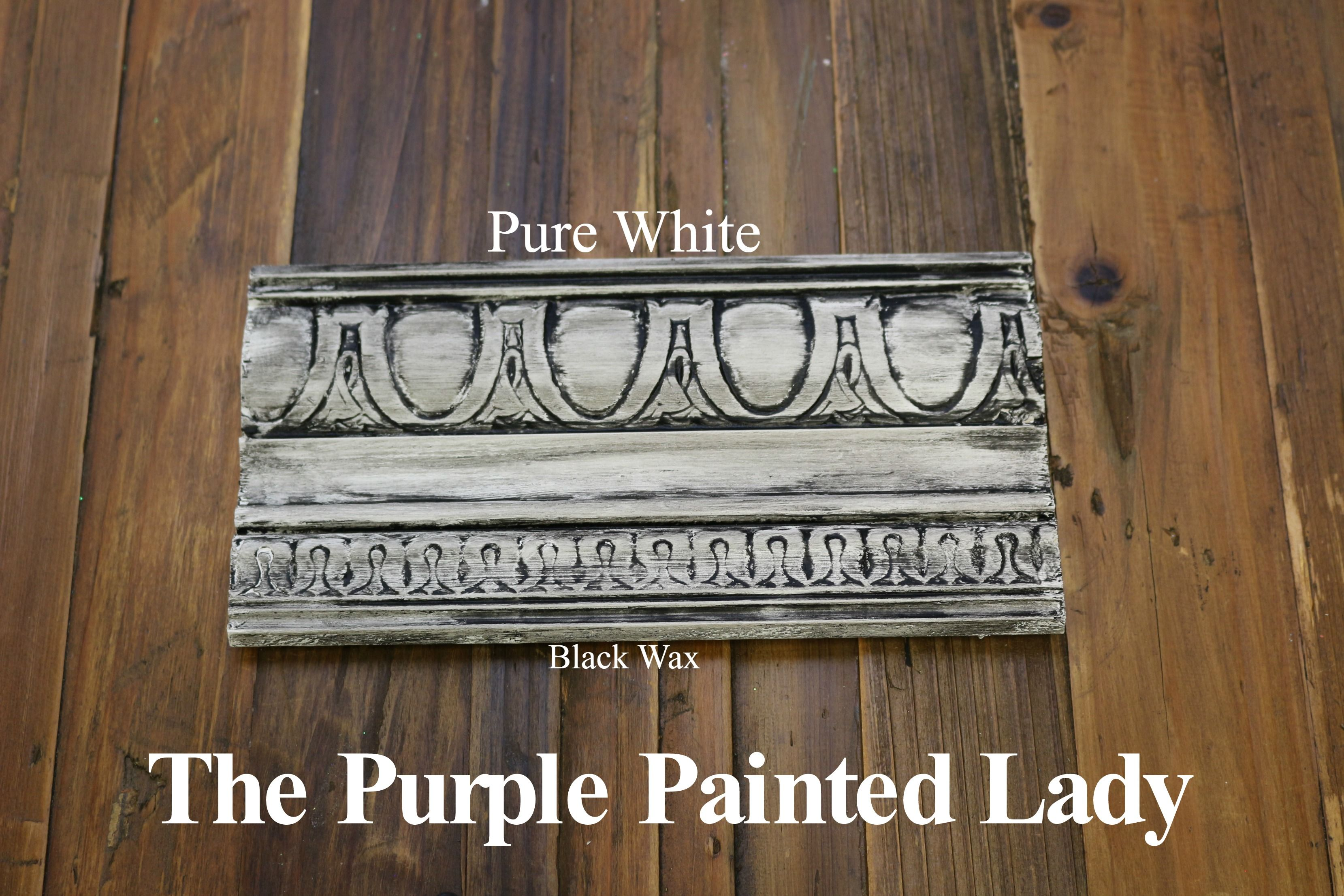 The Purple Painted Lady Two Coats Of Pure White Chalk