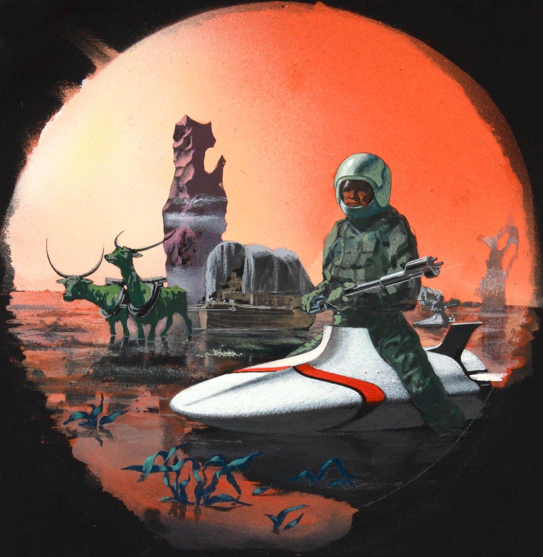 Sci Fi Illustration For Urania By Karel Thole 1931 2008 1970s