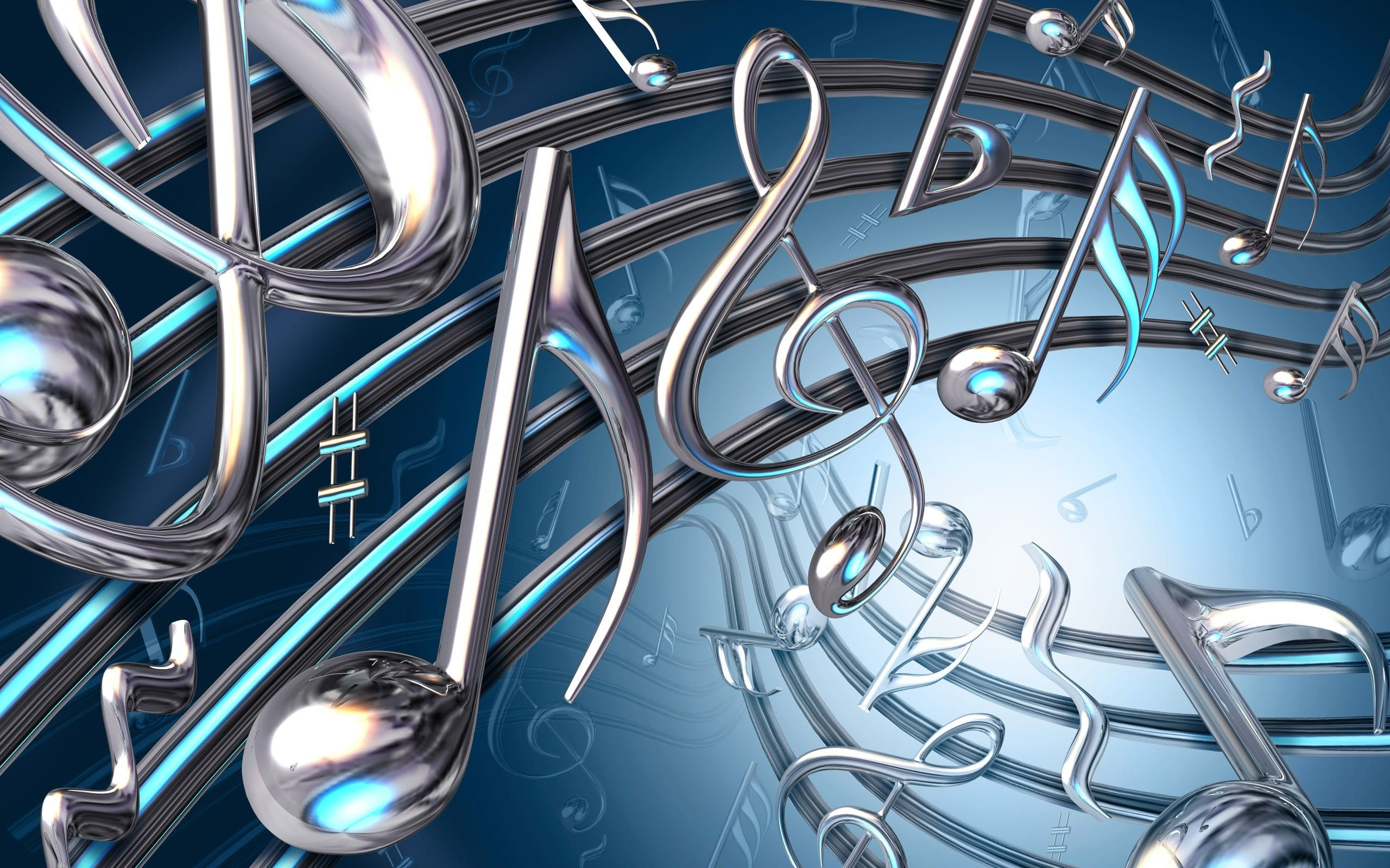 Music Background Templates Backgroundsforpowerpointorg Note 3d