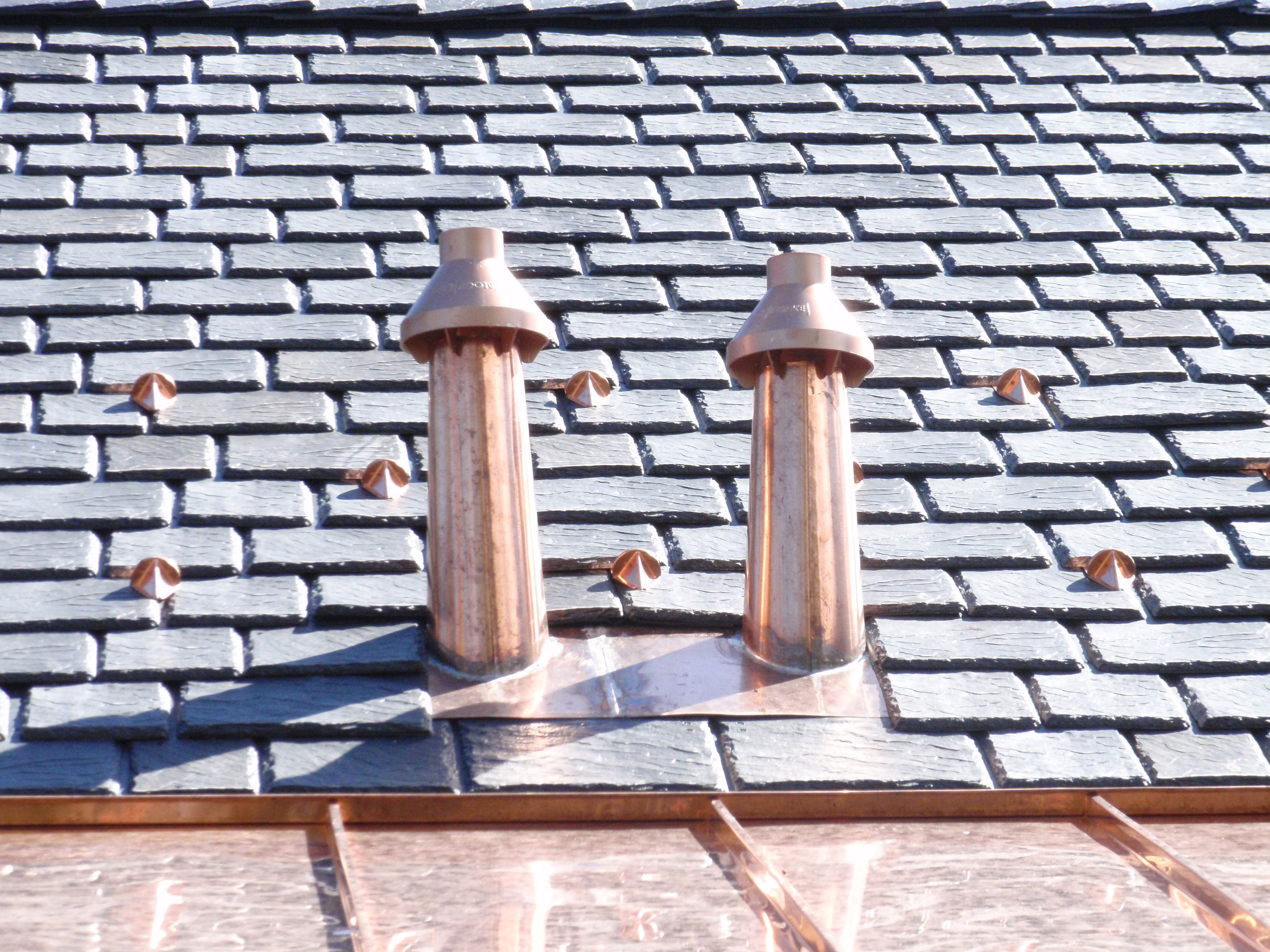 Distinguished copper metal roof vents copper metal roof