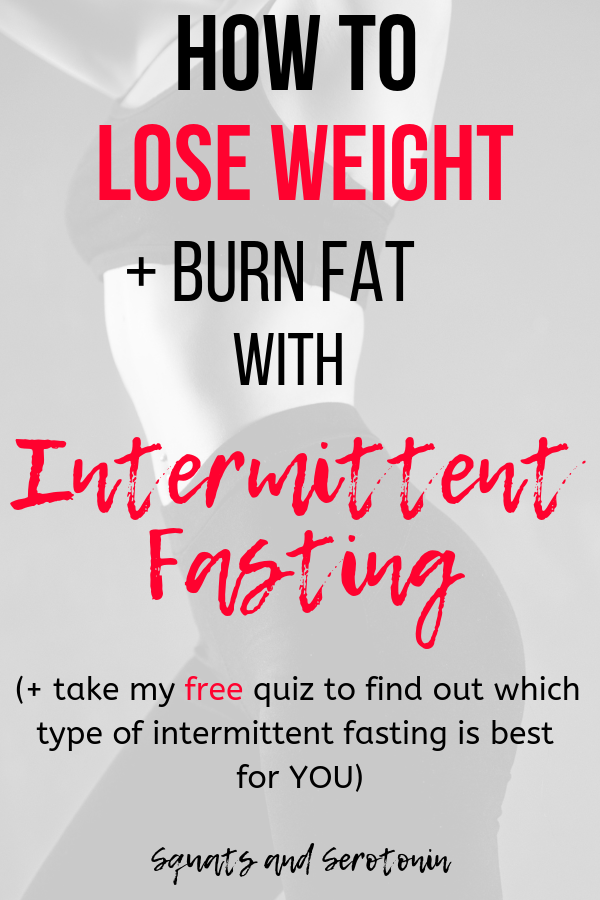 Does fasting help burn belly fat