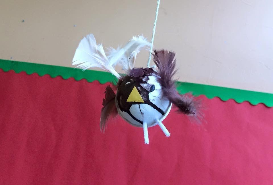 Preschool topic wildlife birds craft