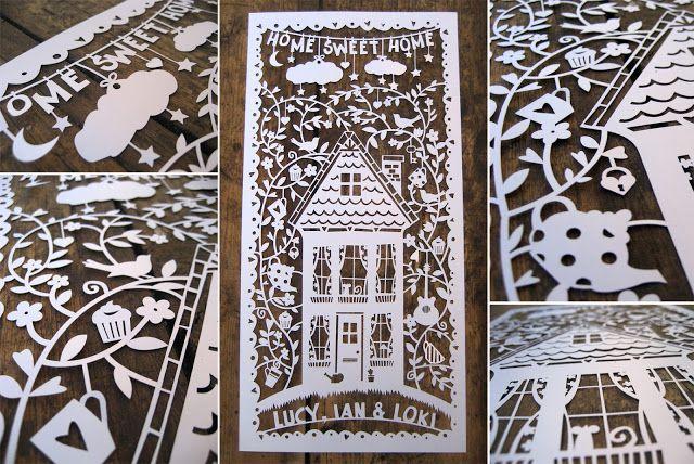 Samantha's Papercuts: New Papercut Designs