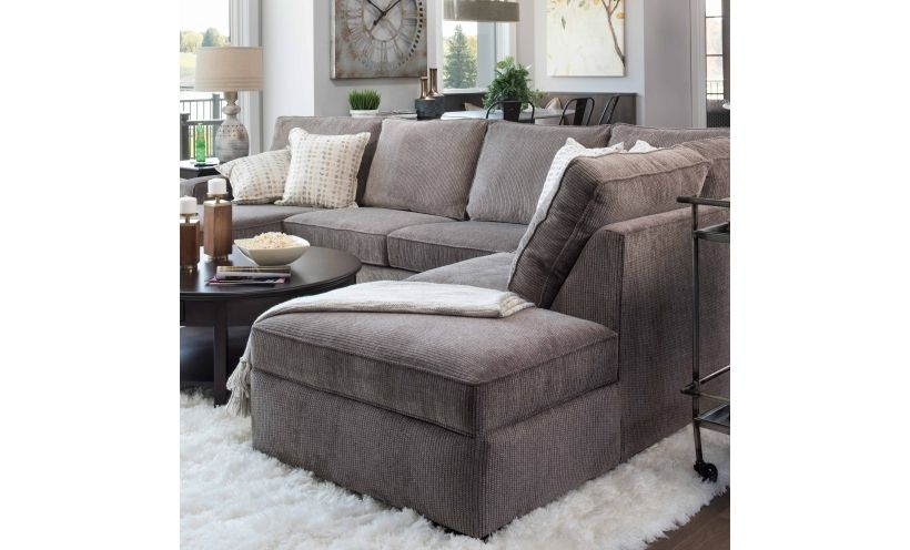 Leather sofa with Throw