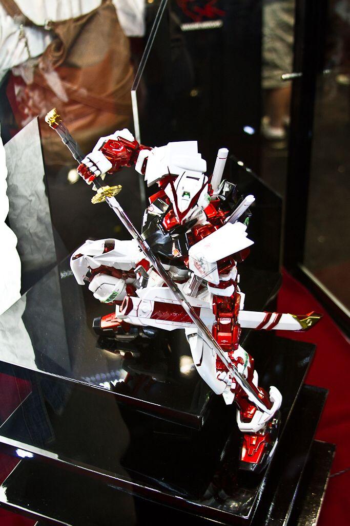 Gundam action figure.
