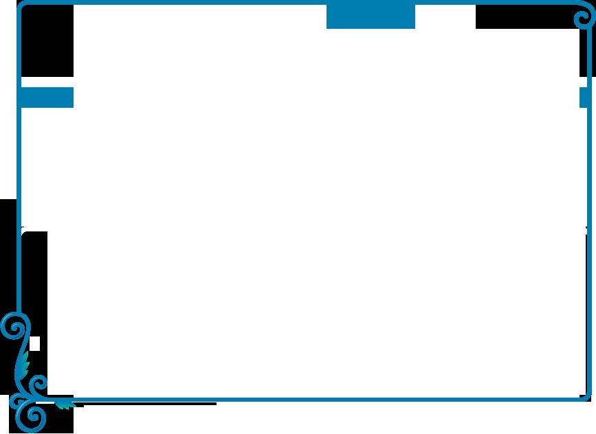 Simple Blue Borders For Certificate Png Clipart Borders And Frames Document Clip Art Moldura Azul Molduras Bordas