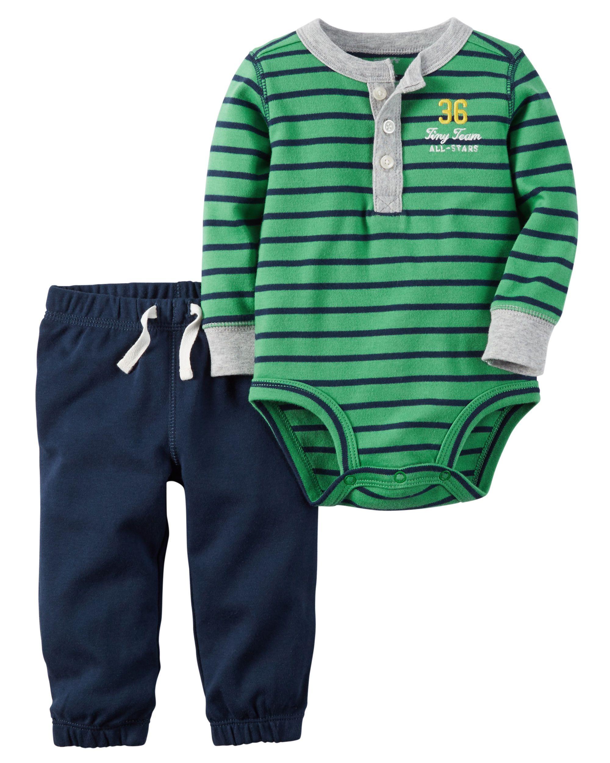 2 Piece Bodysuit & Pant Set