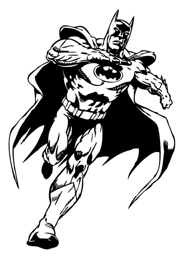 batman04 T shirt designs Batman coloring pages