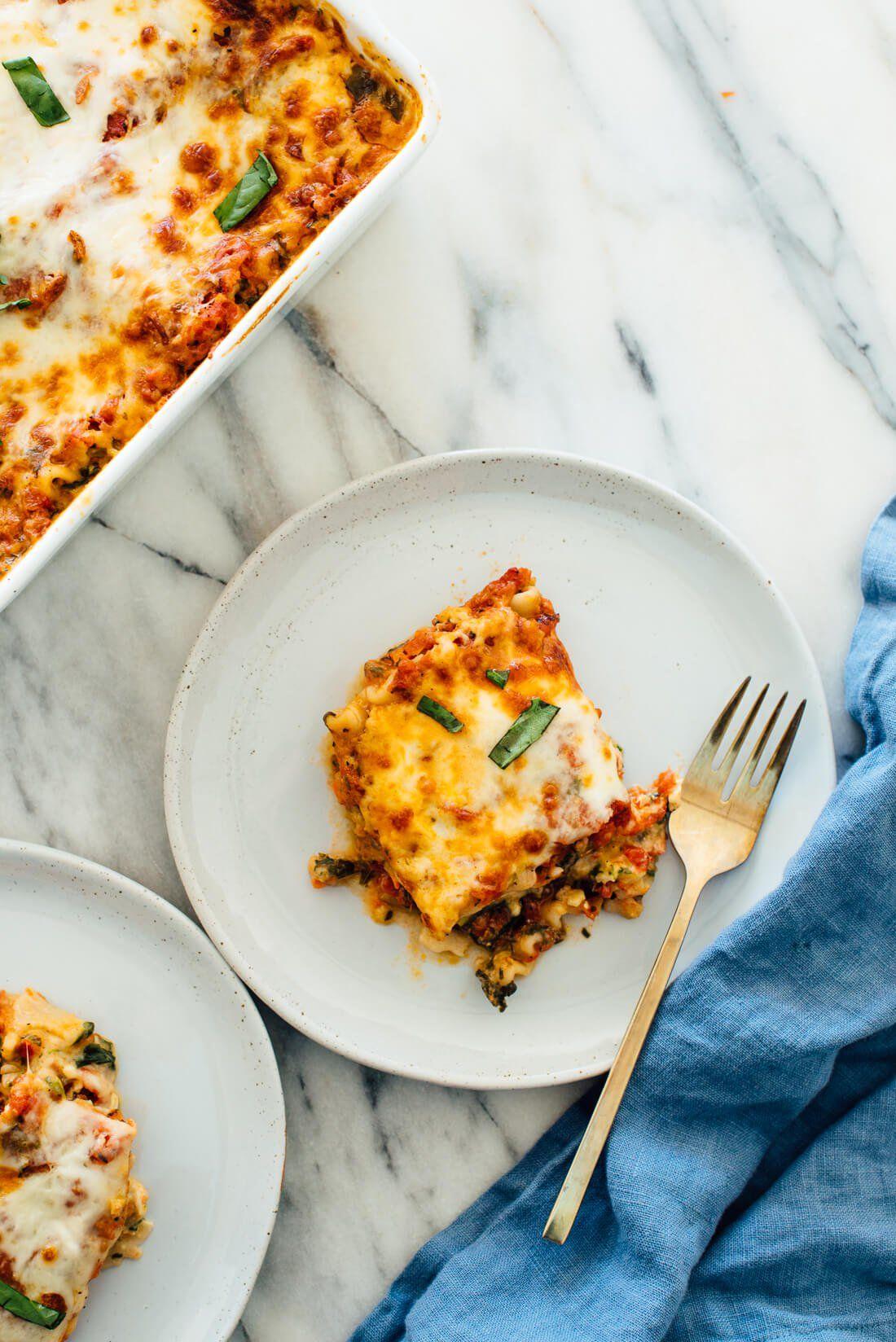 Best Vegetable Lasagna Recipe Cookie And Kate Recipe Vegetable Lasagna Recipes Vegetable Lasagna Lasagna Recipe