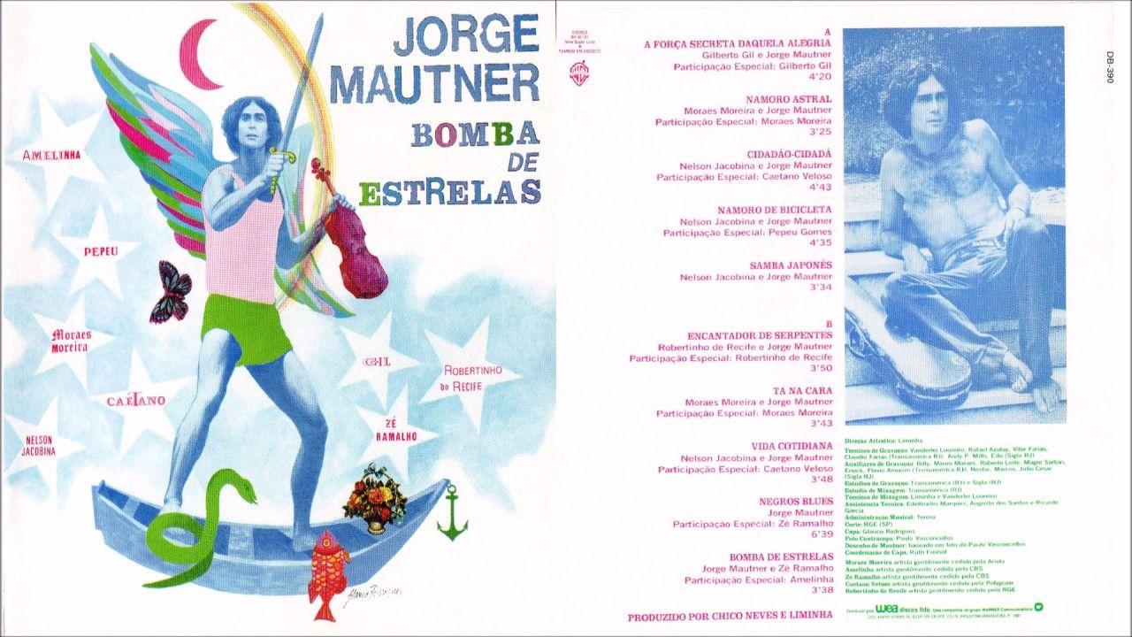 Jorge Mautner - Bomba de Estrelas (1981) Álbum Completo
