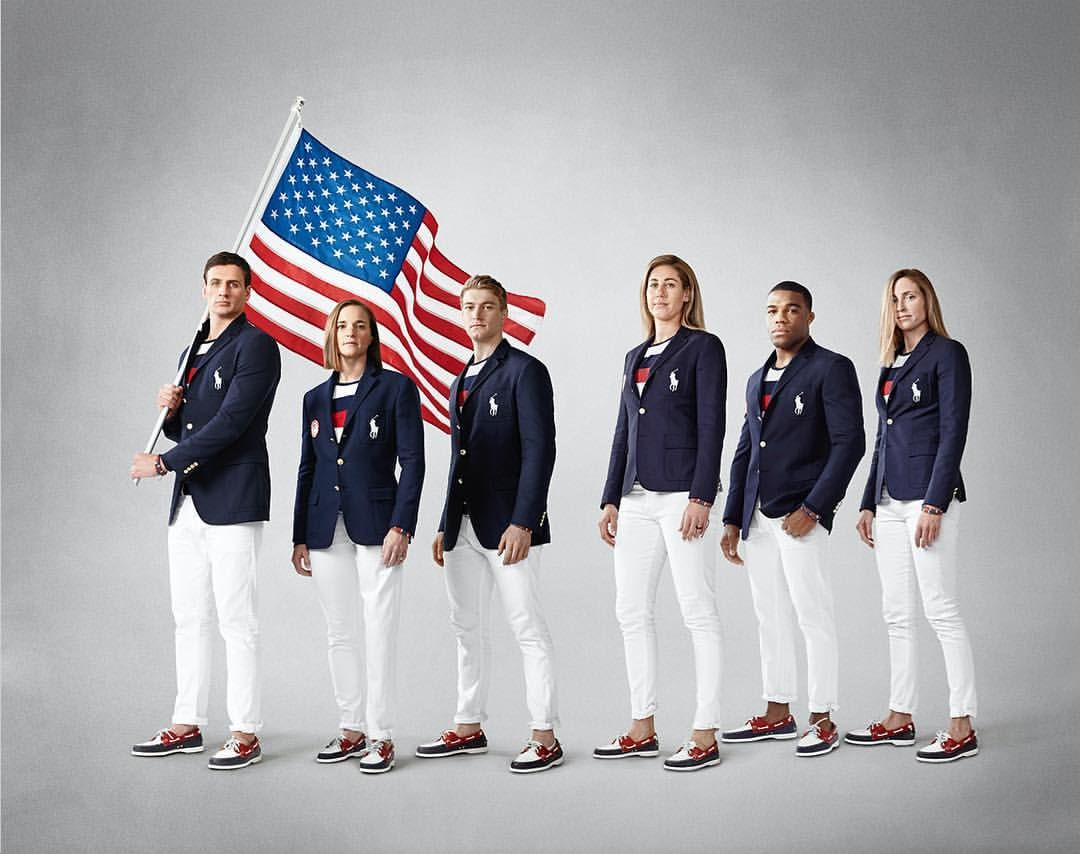 Team USA ~One thing we can guarantee: #TeamUSA will be lookin' good in their @poloralphlauren Opening Ceremony uniforms TONIGHT!