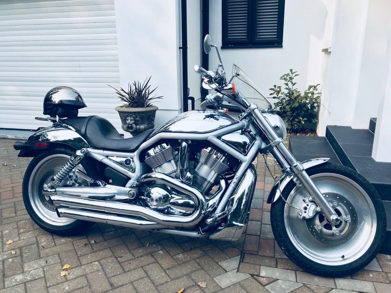 HARLEY-DAVIDSON VRSCA V-ROD ANNIVERSARY 100 'Very rare 1450cc' 2003 Harley