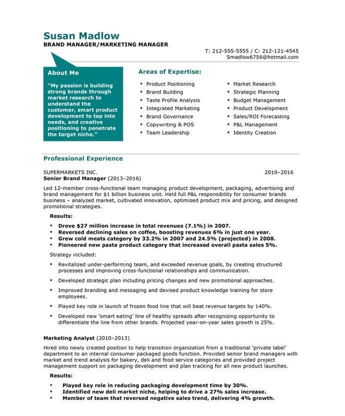Free Resume Templates Marketing Freeresumetemplates Marketing Resume Templates Marketing Resume Sample Resume Resume Examples