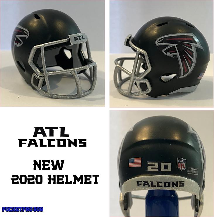 Atlanta Falcons New 2020 Pocket Pro Helmet Atlanta Falcons Matt Ryan Falcons Atlanta Falcons