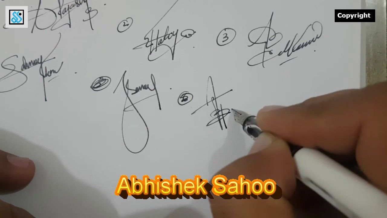 Beautiful And Stylish Signature For Your Name Beginning With
