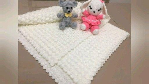 Photo of Como fazer cobertor para bebê em crochê passo a passo facil e rápido