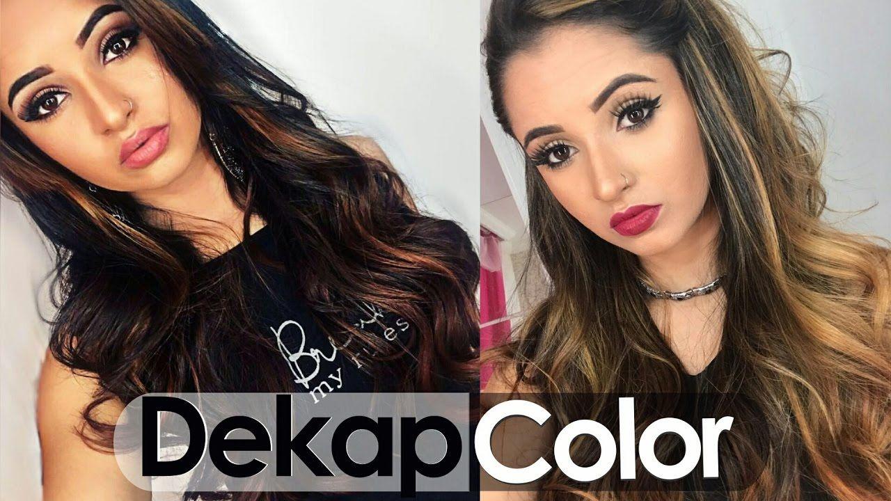 Removendo coloração com Dekap Color - Por: Kênia Gomes