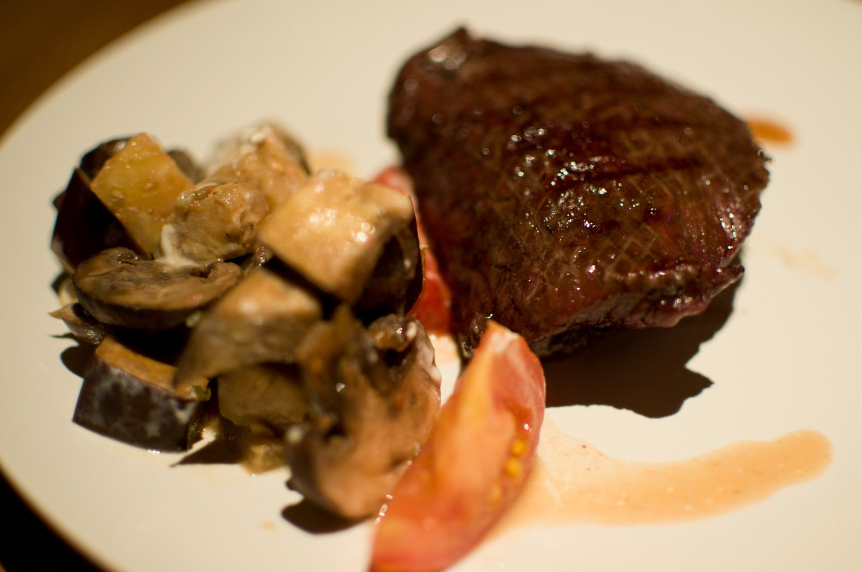 There is a way to prepare a almost perfect steak fast
