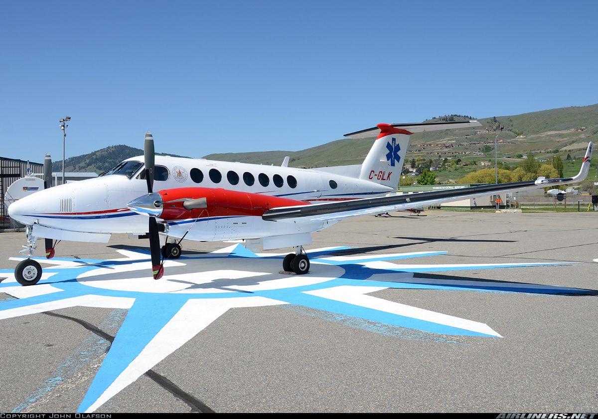 Carson AirMore Beech Super King Air 300 More Vernon (YVE