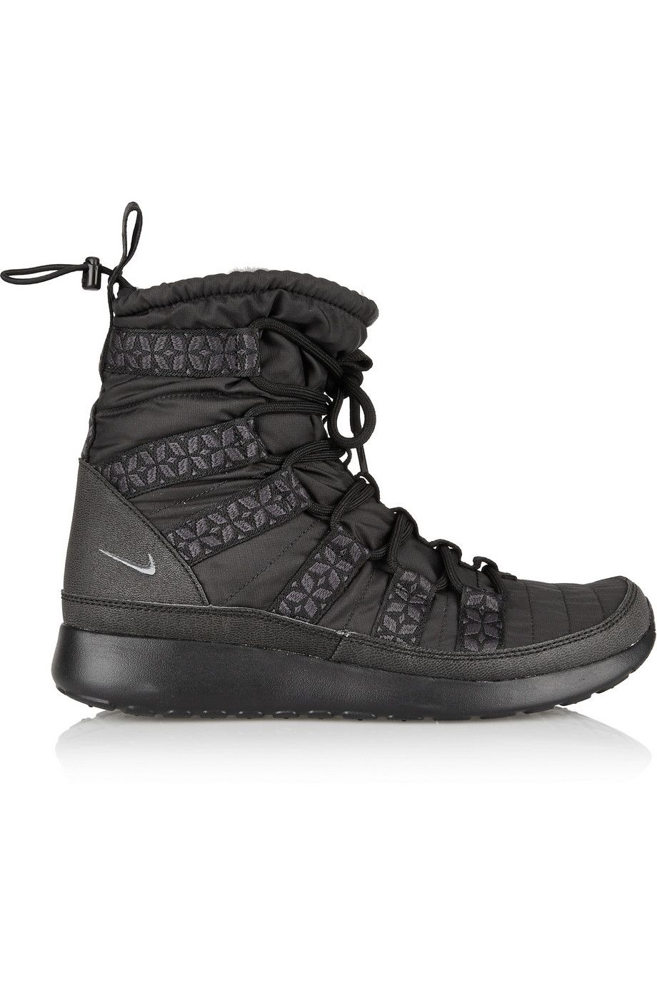reputable site 33dac b7ee6 Nike   Roshe Run Hi shell sneaker-style boots   NET-A-PORTER.COM