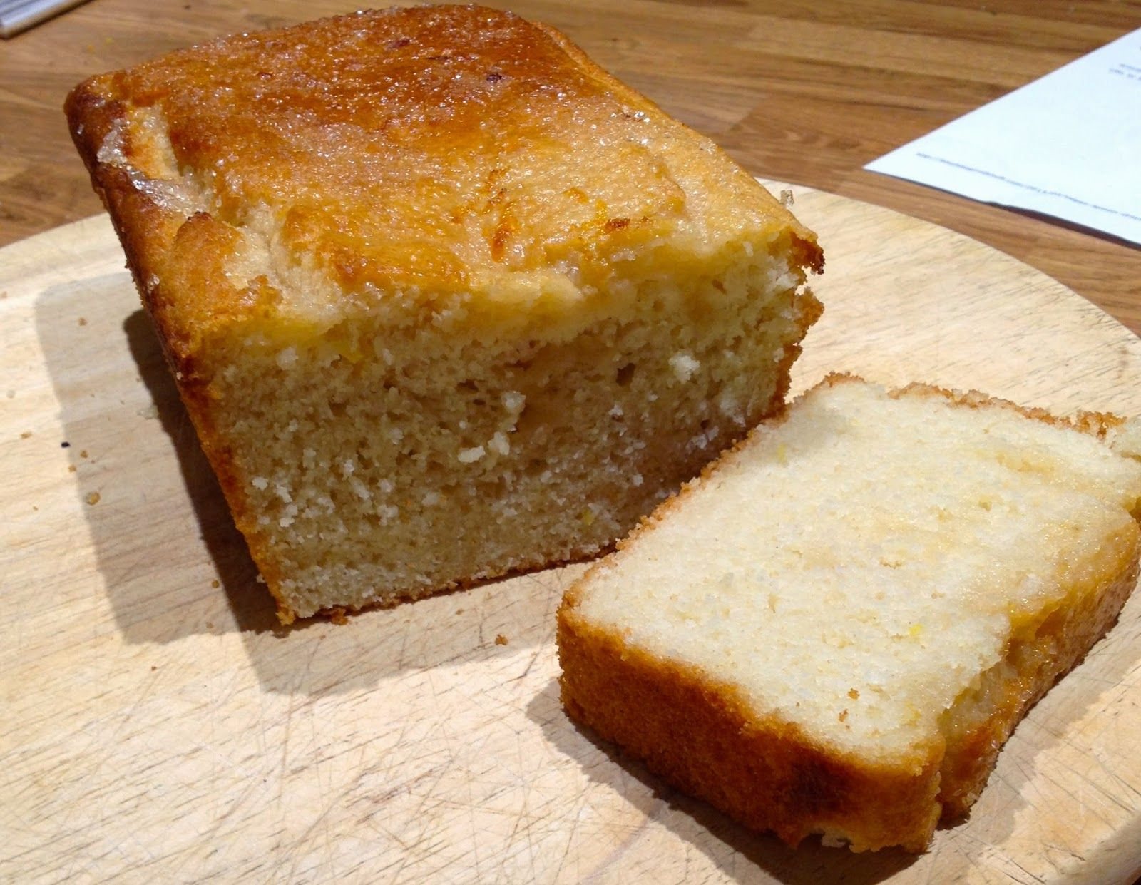 Just what I needed – lemon drizzle cake