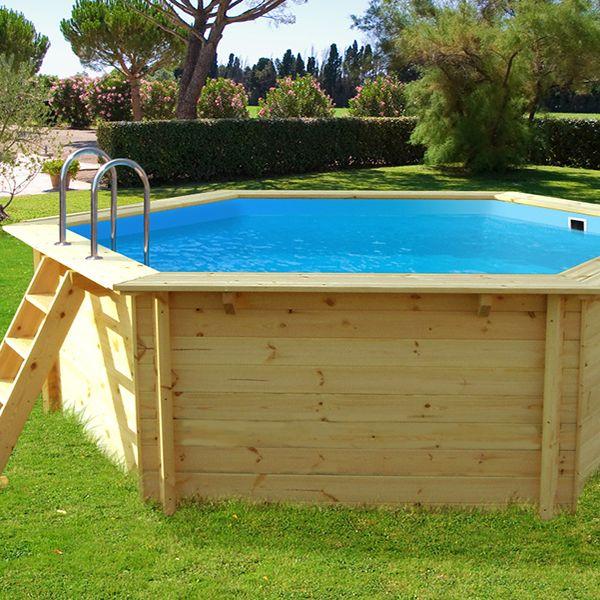 piscine bois hawai – 4.10 x 1.18 m
