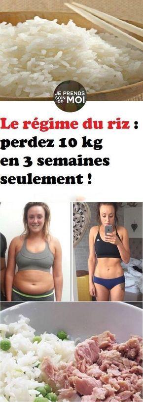 Régime du riz : perdre 7 kilos en seulement 9 jours !