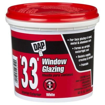Dap 33 Ft 1 Qt Window Glazing 12122 The Home Depot Window Glazing Windows Wood Windows