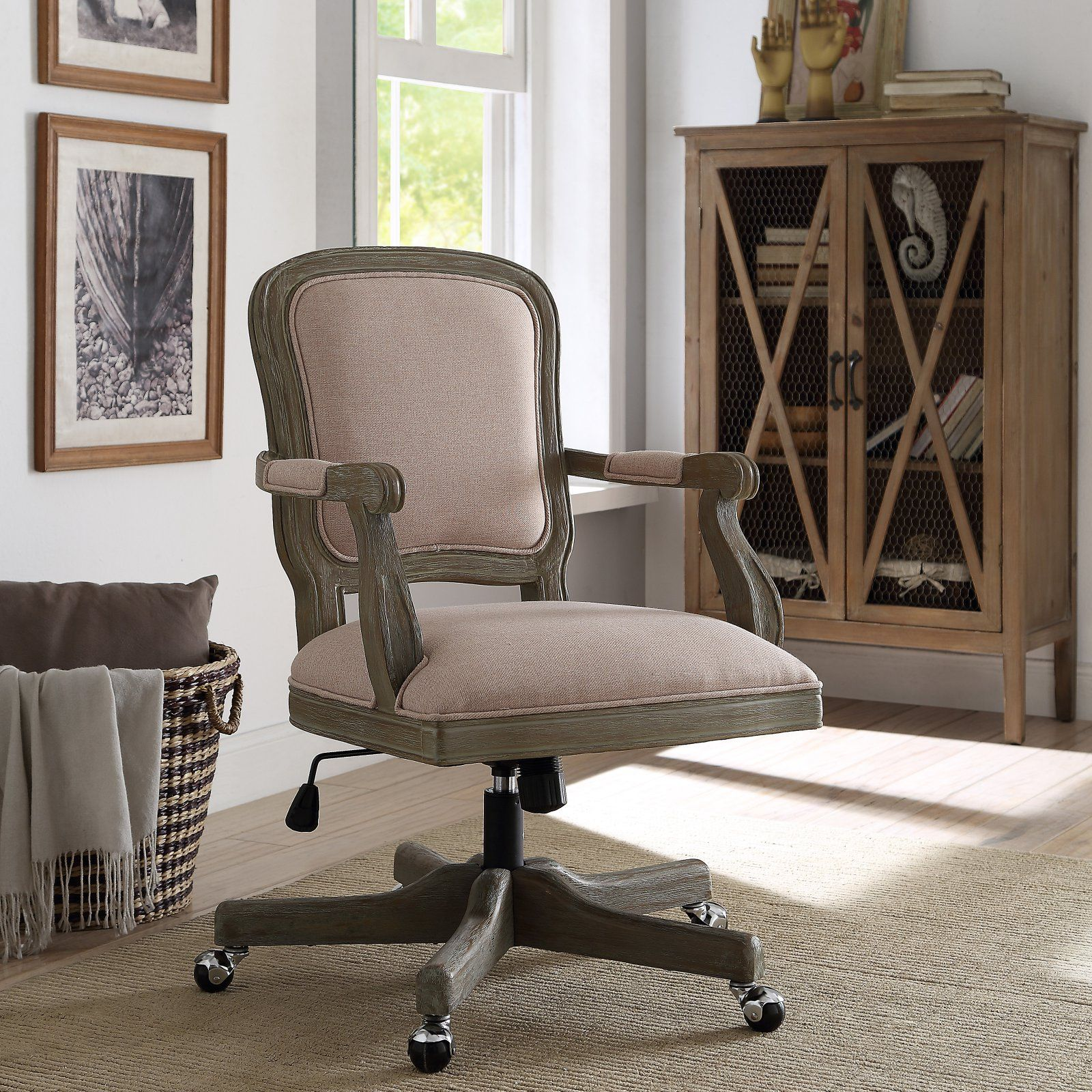 Linon Maybell French Country fice Chair in 2019