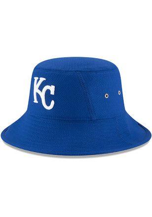 new concept ae9f8 0f4f0 New Era Kansas City Royals Mens Blue 2017 Clubhouse Bucket Flex Hat