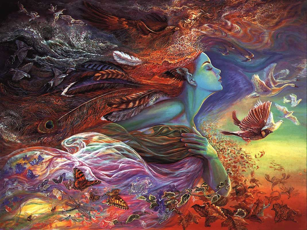 Josephine Wall Spirit Of Flight