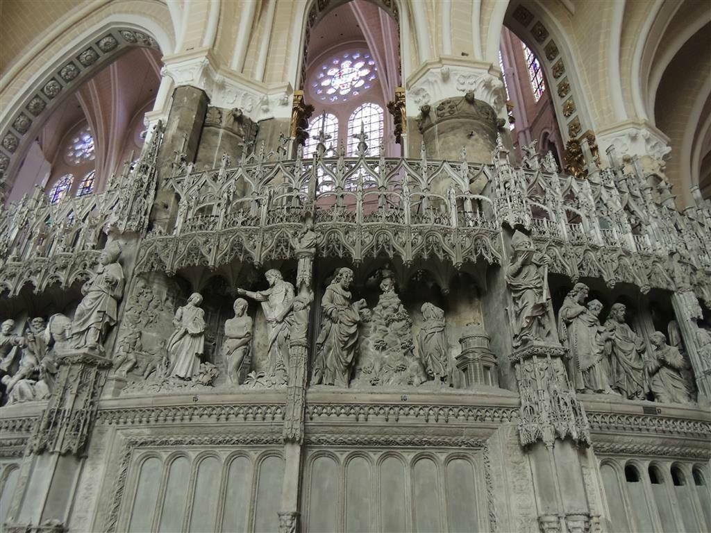 Clôture de choeur de Chartres, 1520's, Jean de Beauce