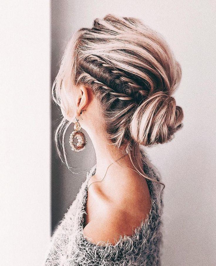 Photo of Eleganti acconciature da sposa Prom Updo per capelli medi e lunghi; Trend – Nuovo sito