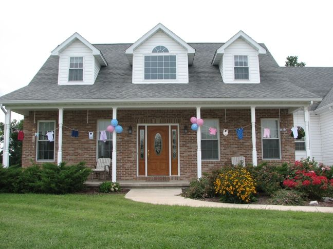 Decorate Outside Of House For Baby Shower   Google Search