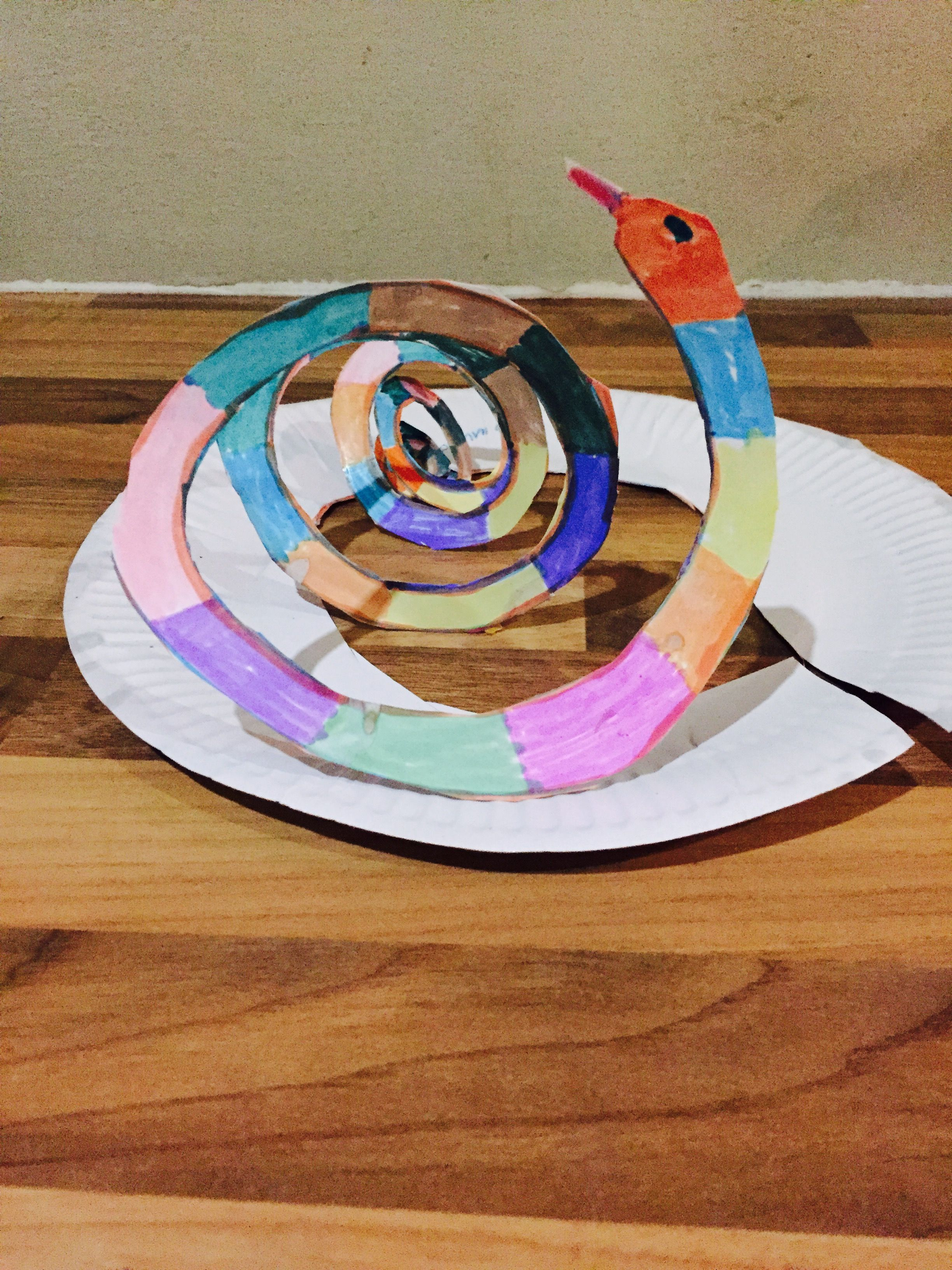 Jungle Party Paper Plate Snake & Jungle Party Paper Plate Snake | Jungle party ideas | Pinterest ...