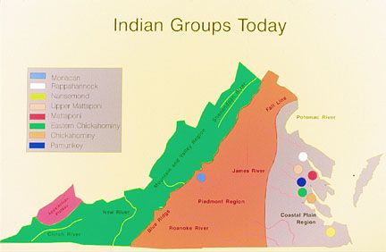 The Pamunkey nation are one of eleven Virginia Indian tribes ...