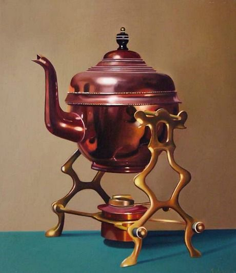 Functional Copper Kids Kitchen Set: Pretty Cups And Teapots,i Used To
