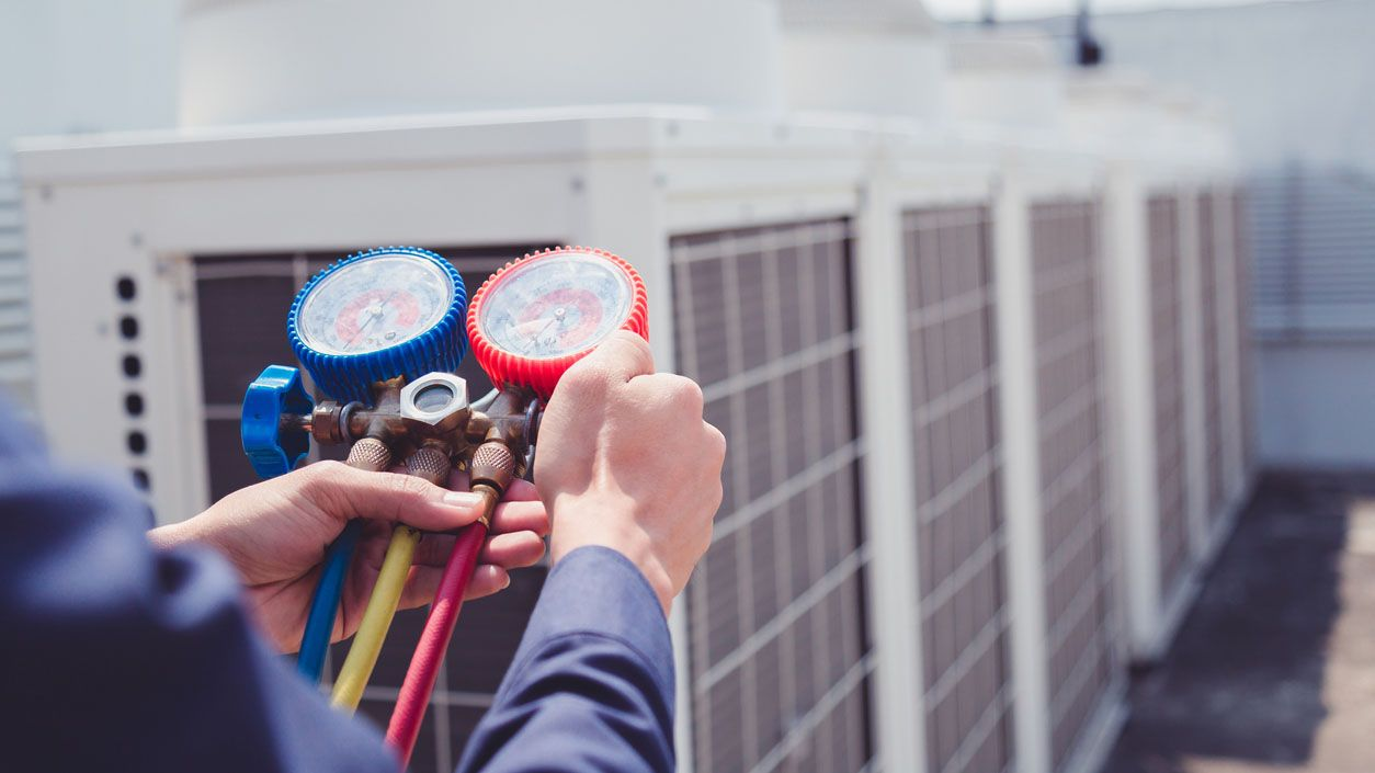 Heatingrepair Hvaccontractors In 2020 Heating Air Conditioning Preventive Maintenance Electronic Air Filter