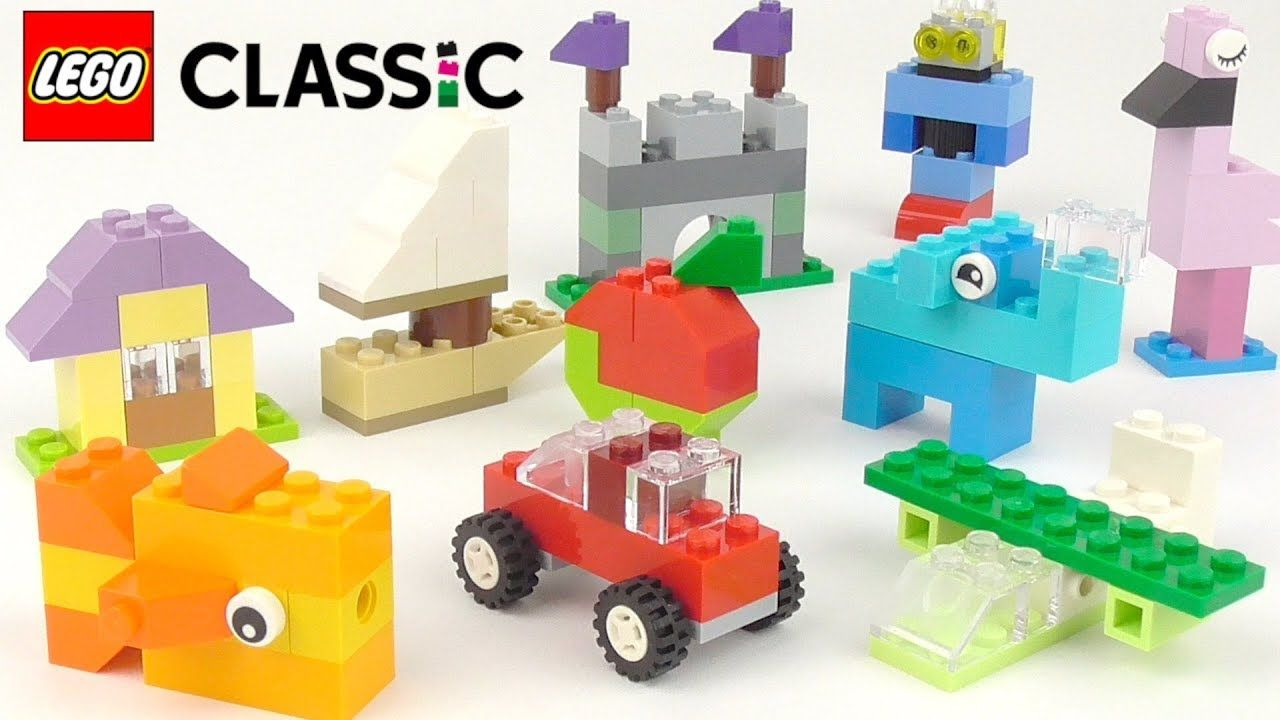 LEGO Classic Creative Suitcase (10713) – Toy Unboxing and Building Ideas