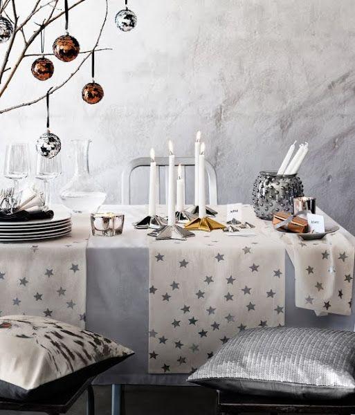 Decoraci n para la mesa de fin de a o deco christmas - Decoracion mesa fin de ano ...