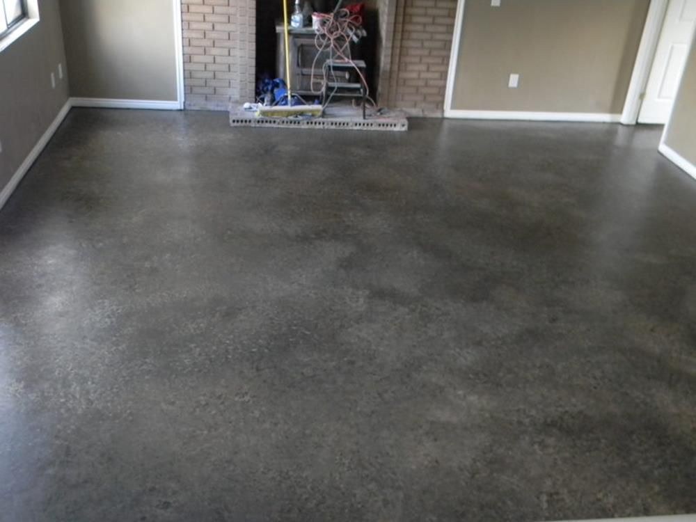 Basement Concrete Floor Paint Color Ideas 8 Painted Concrete