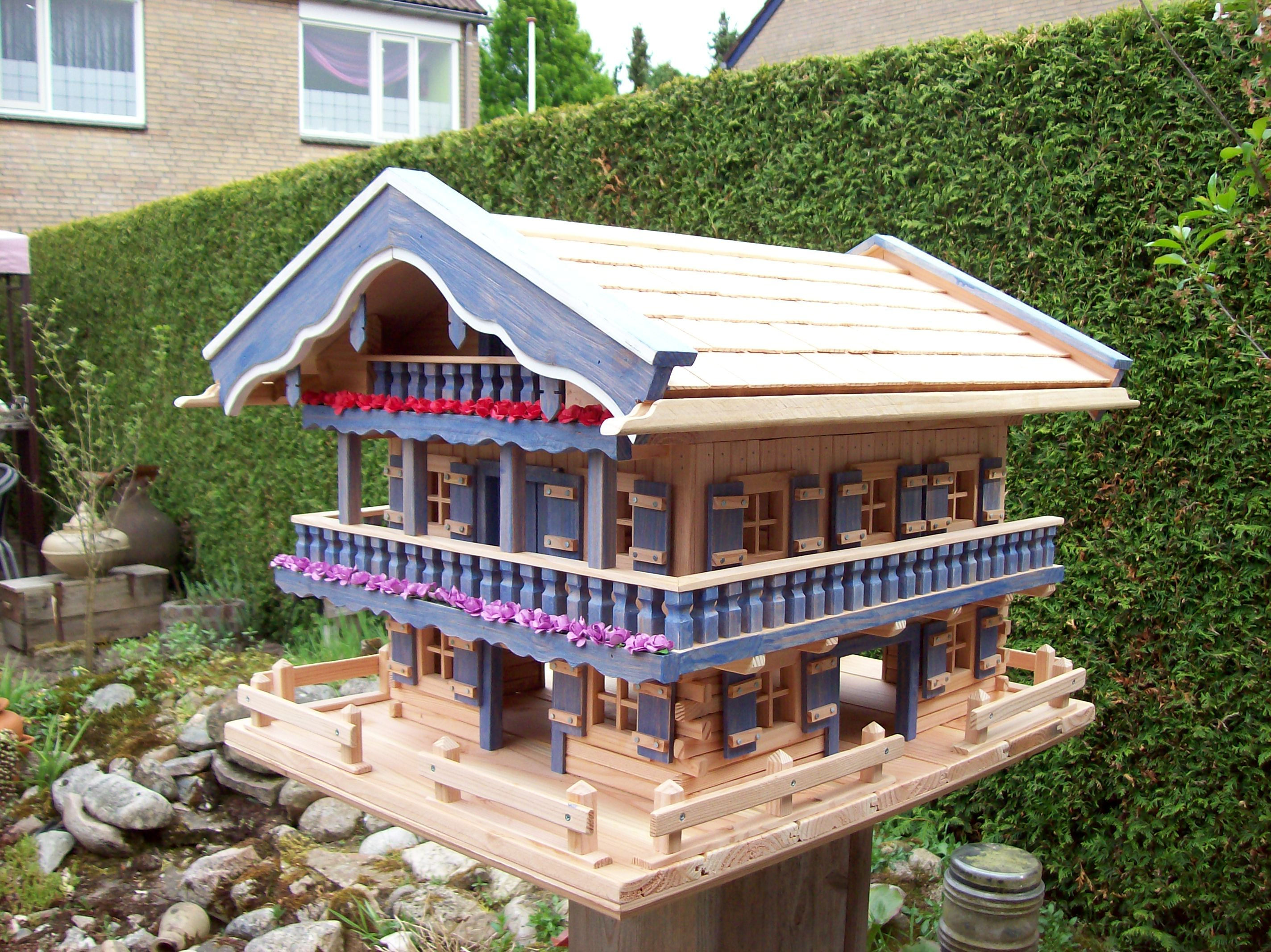 discount outlet boutique best website Futtervogelhaus Bauanleitung zum selber bauen | Heimwerker ...