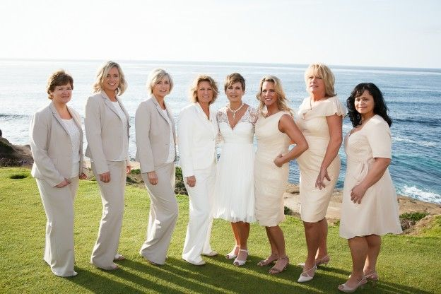 Real Wedding // Stacy And Deanna // Modern Union // Beach