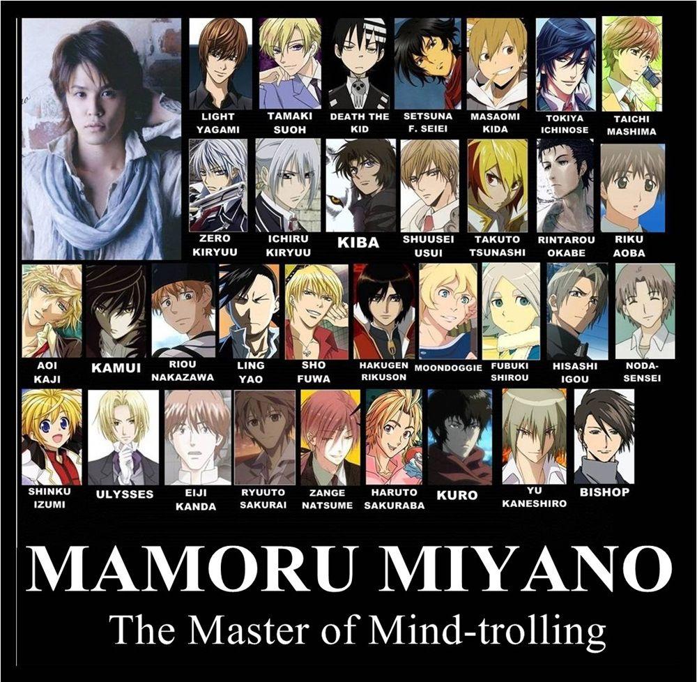 Mamoru miyano otaku anime tamaki y anime manga