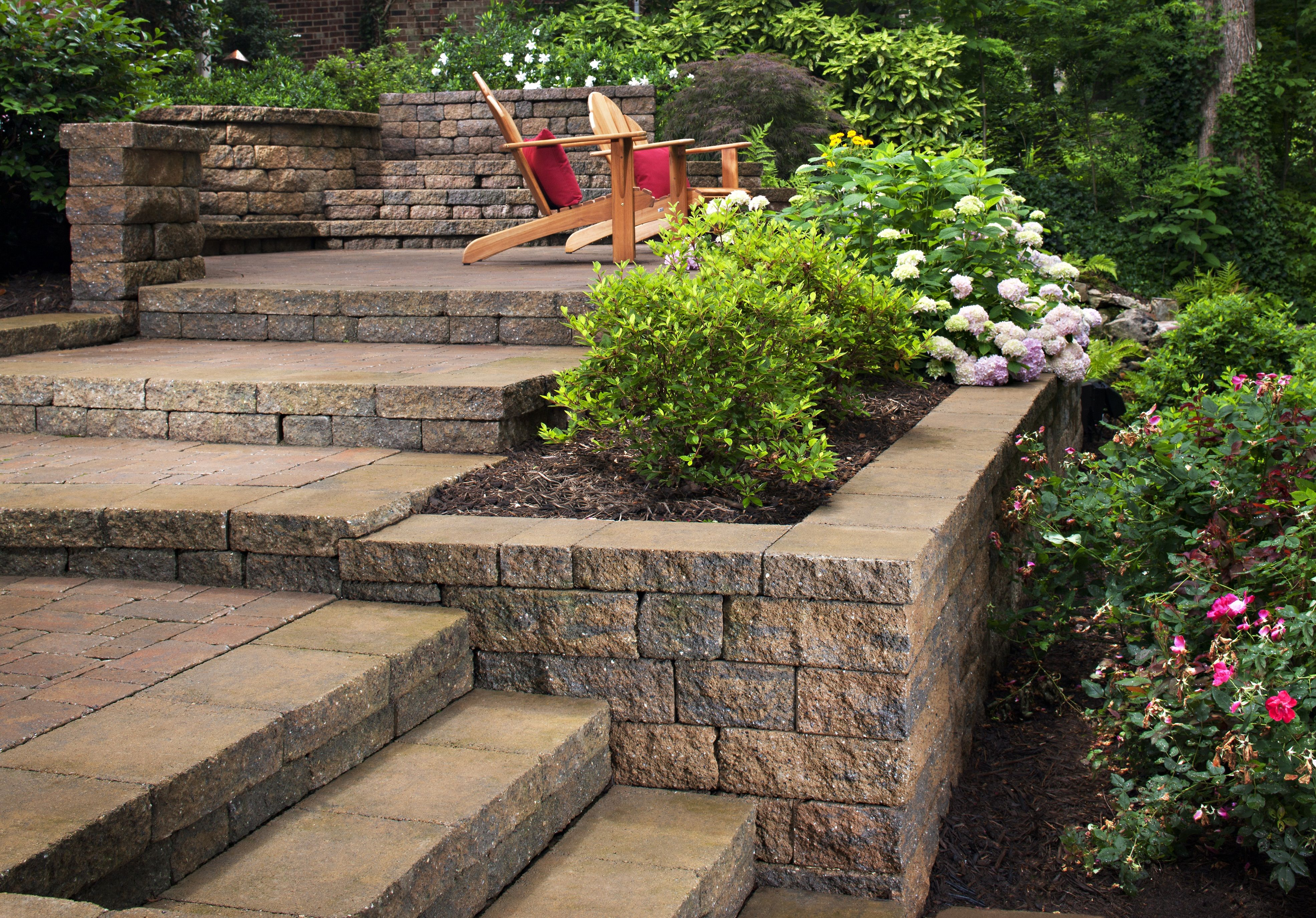 landscaping ideas for a steep backyard slope