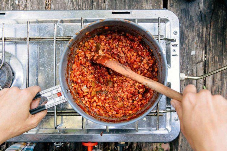 Outdoor Küche Vegetarisch : Camping rezepte u2013 leckere eintöpfe und andere gerichte während dem